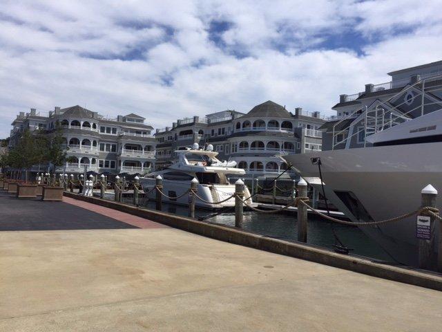 Along the wharft
