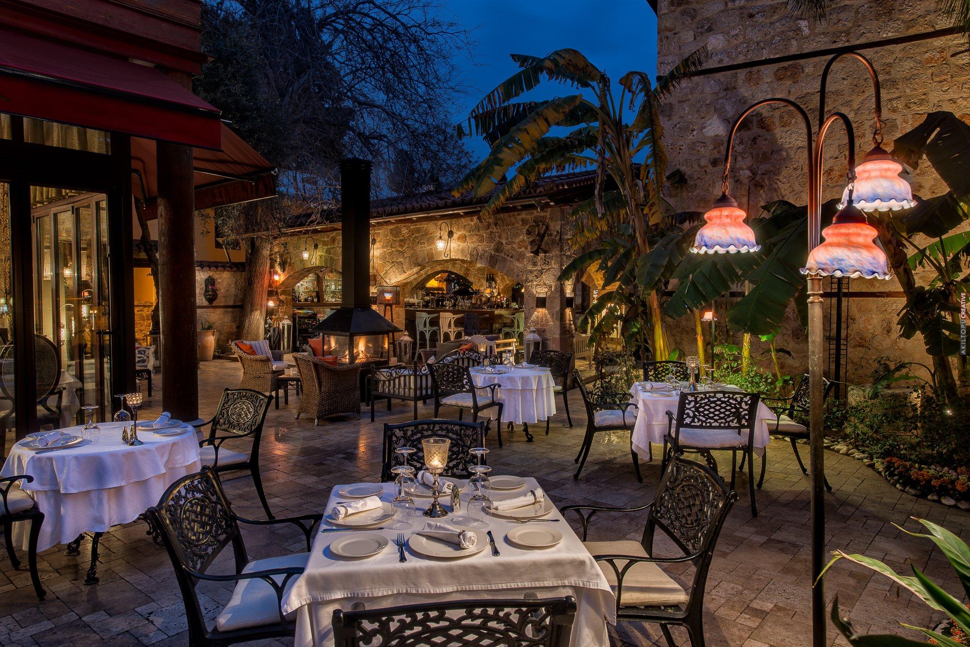 Fine dining restaurant exterior - Seraser Fine Dining Restaurant