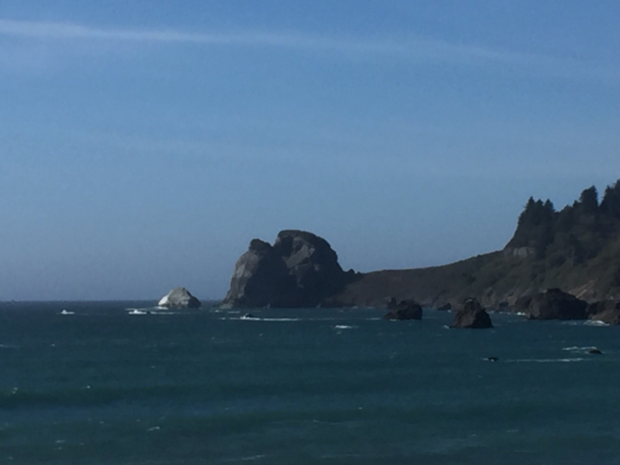 Various stops along the Oregon coast.