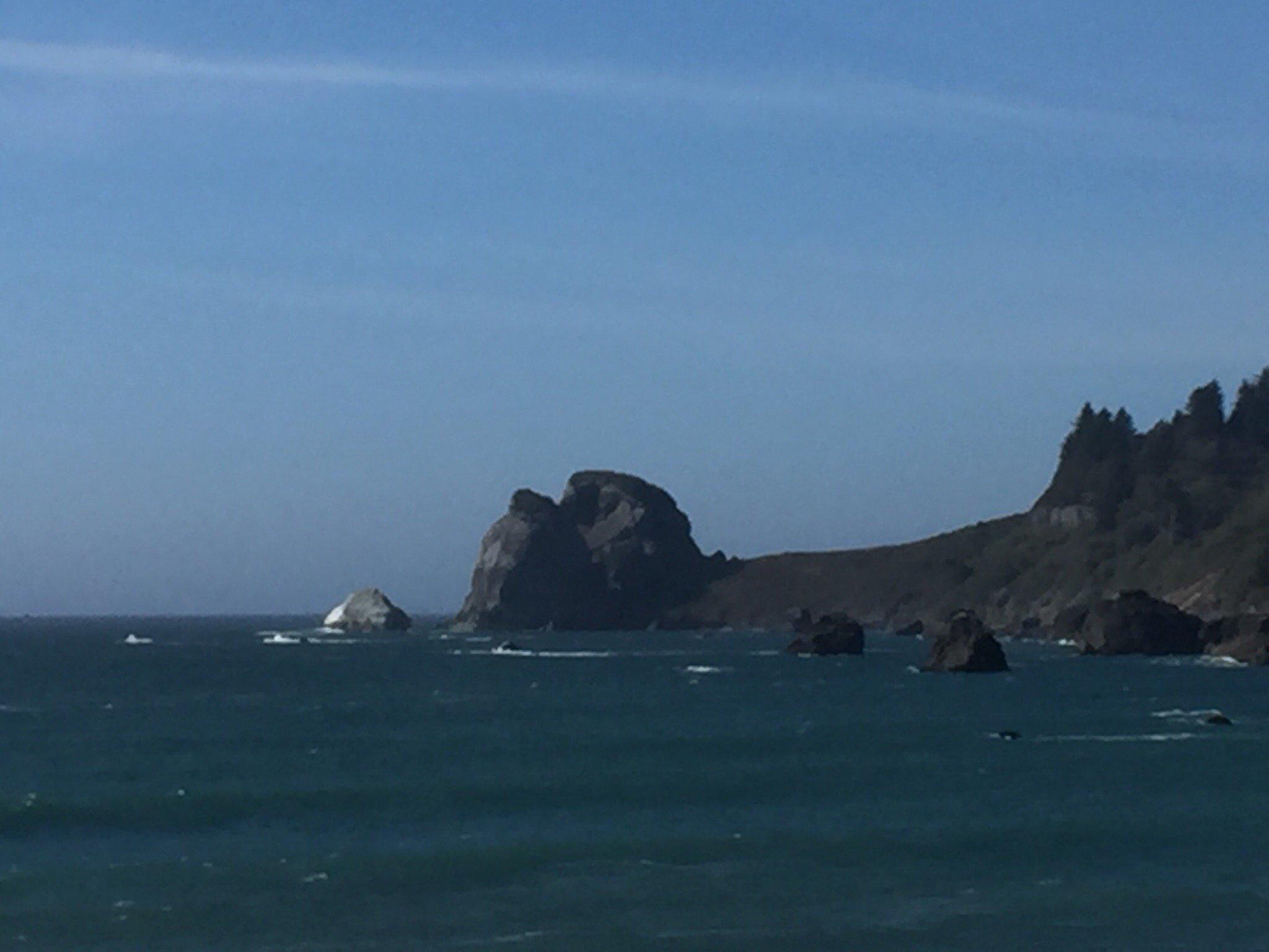 Various stops along the Oregon coast.