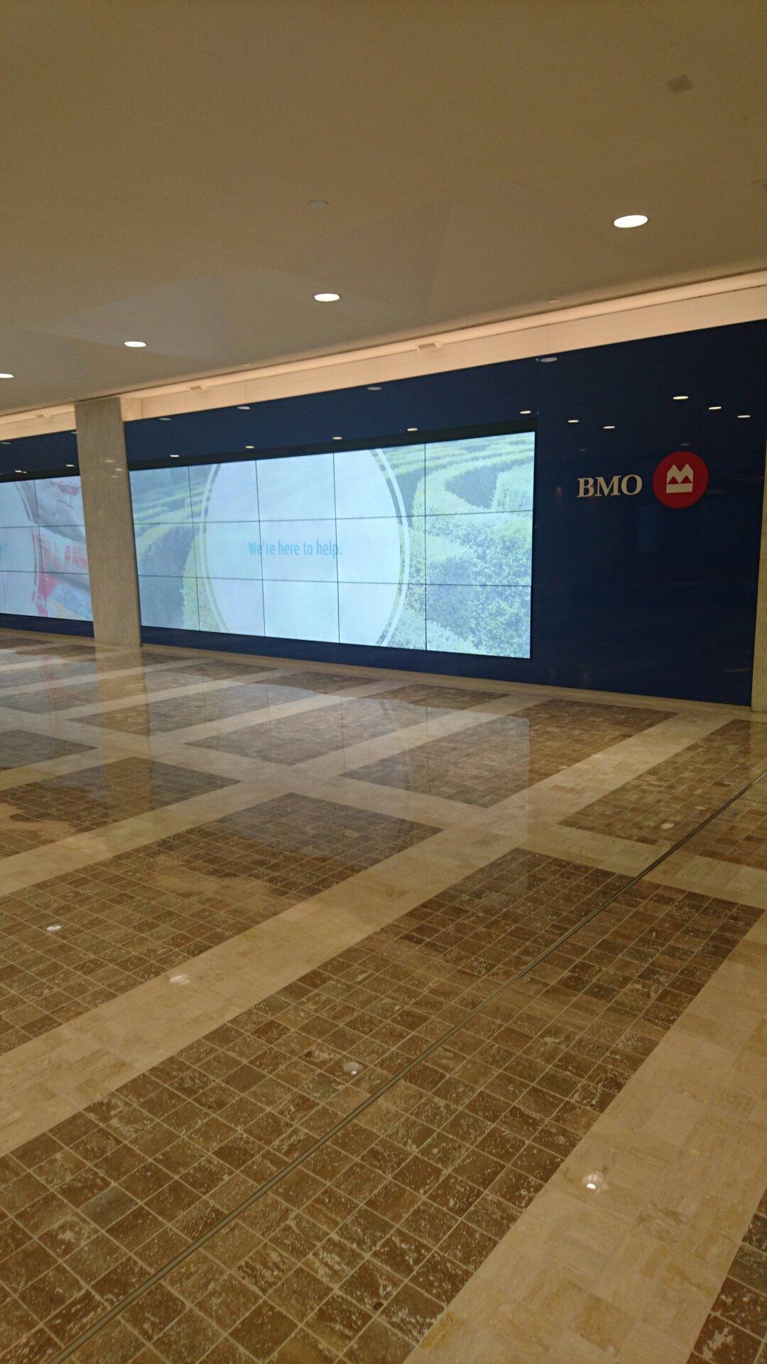 Toronto subway beneath the Bank of Montreal