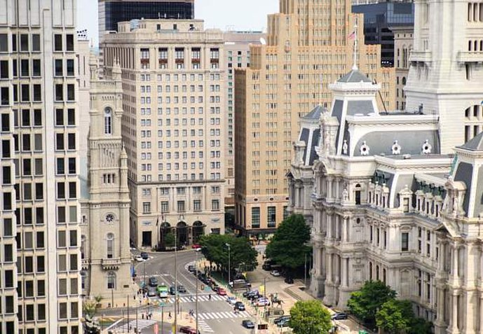 费城市中心万怡酒店