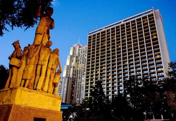 聖安東尼奧河岸步道萬豪飯店