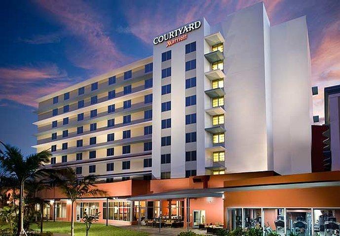 迈阿密机场万怡酒店
