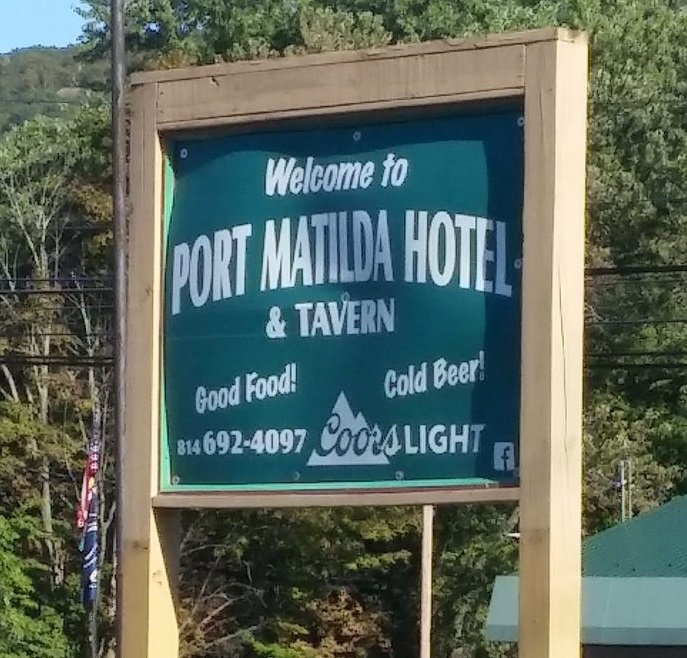 Port Matilda Hotel and Tavern