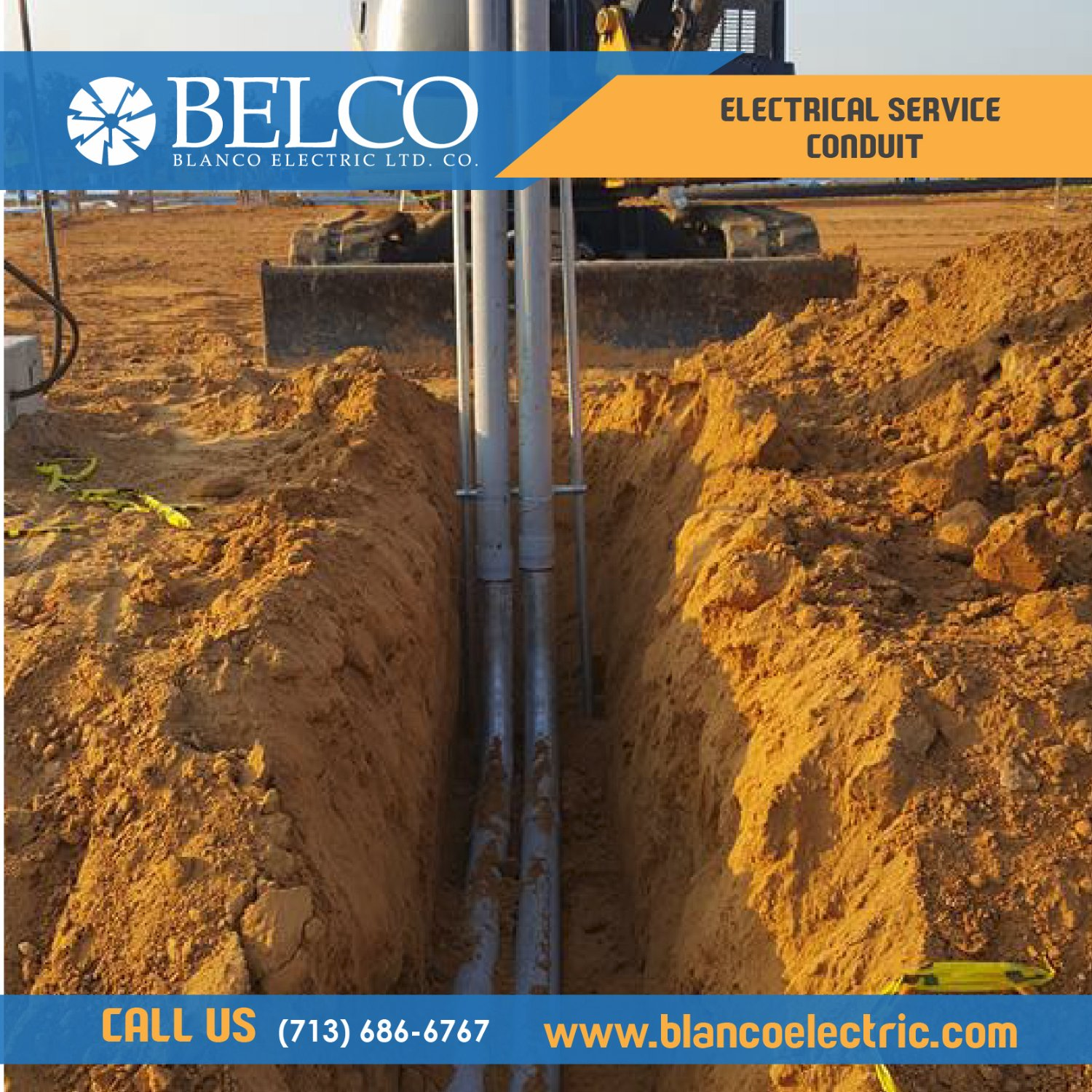 Blanco Electric - BELCO. Commercial Electrical Contractor.  Houston, Texas