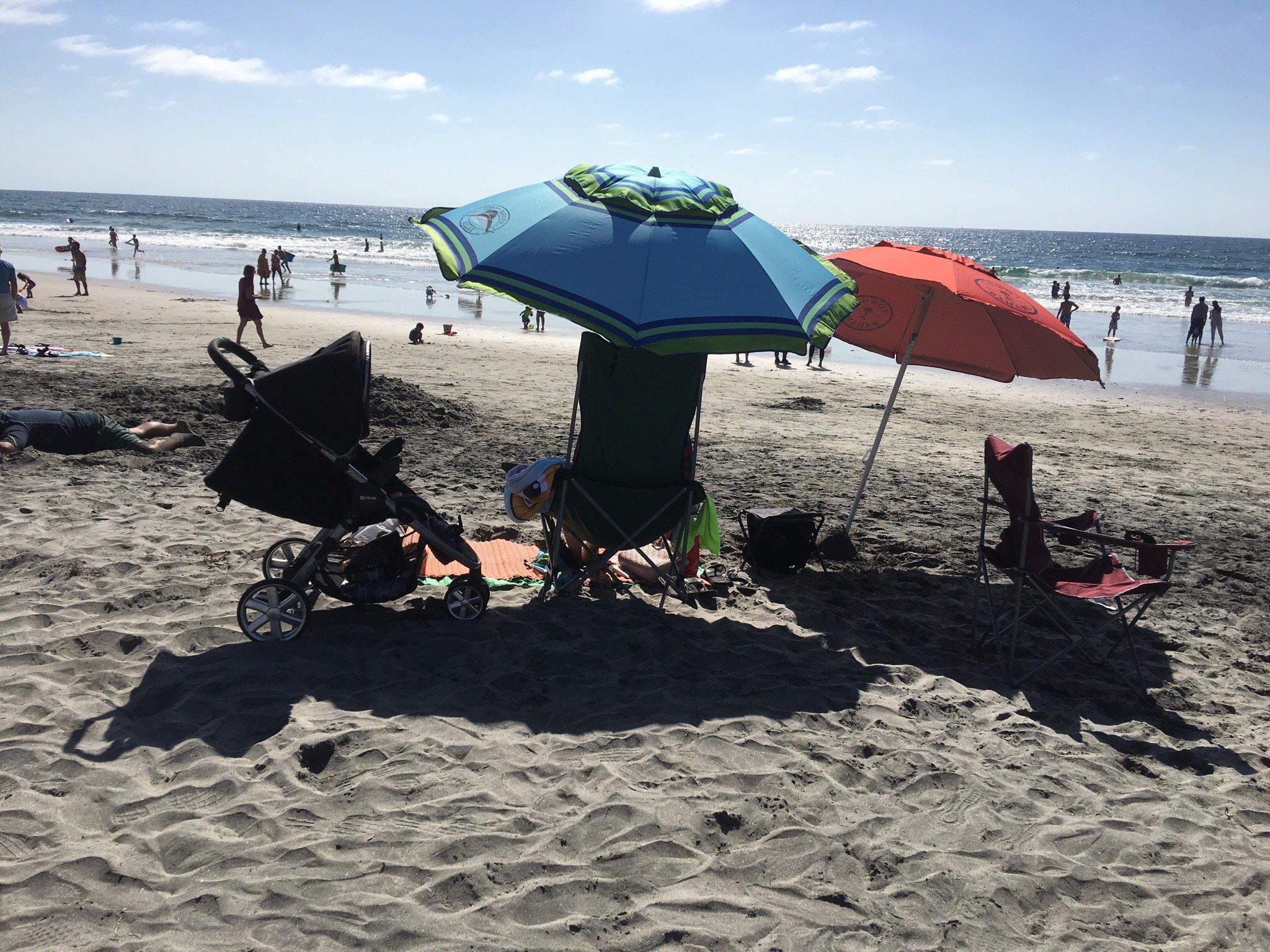 Del Mar Beach, San Diego CA