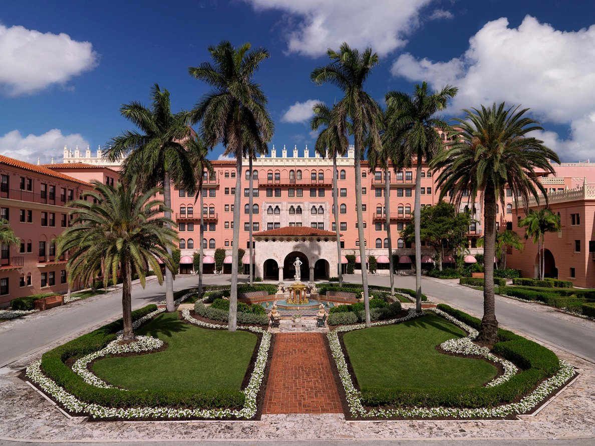 Boca Raton Resort Front Entrance