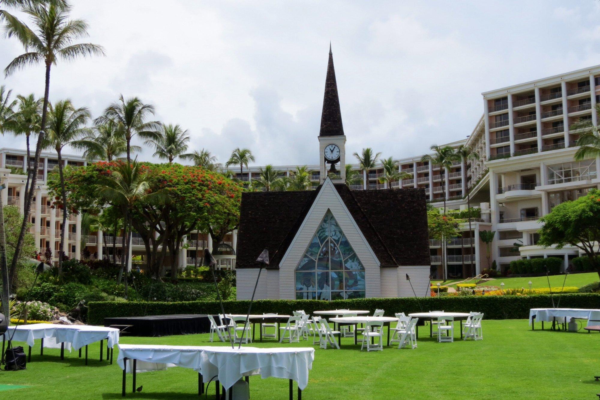 Church on Wailea Beach Maui
