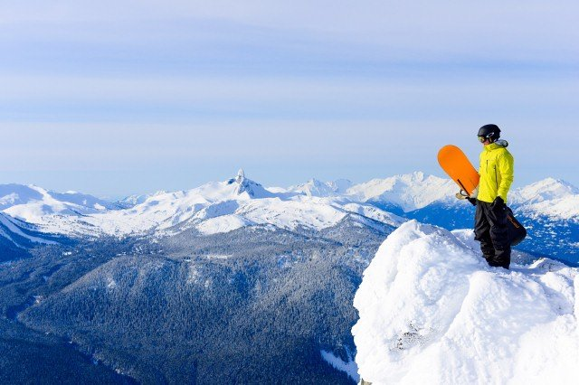 Snowboarding in Whistler Photo by Mike Crane