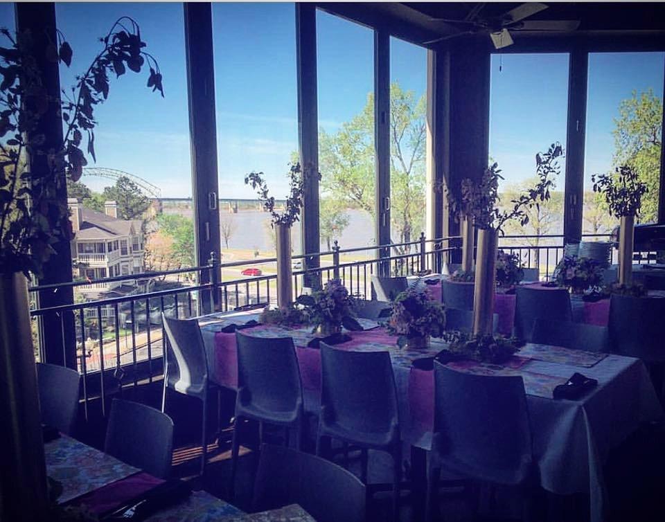 Terrace at the river inn memphis menu prices for The terrace restaurant menu