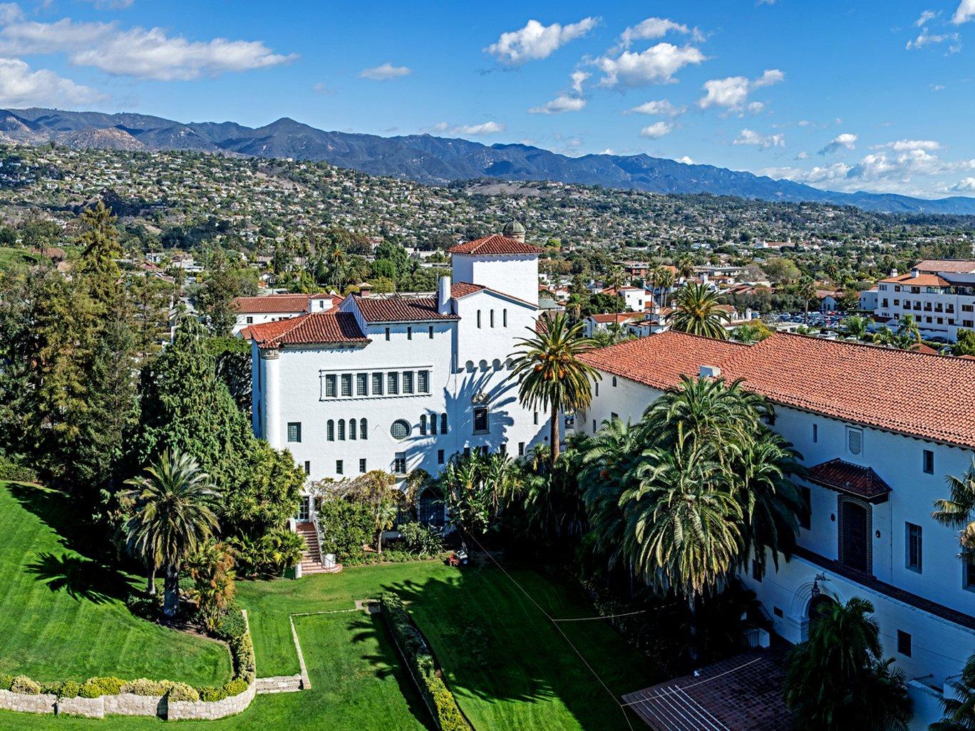 Santa Barbara Courthouse Garden