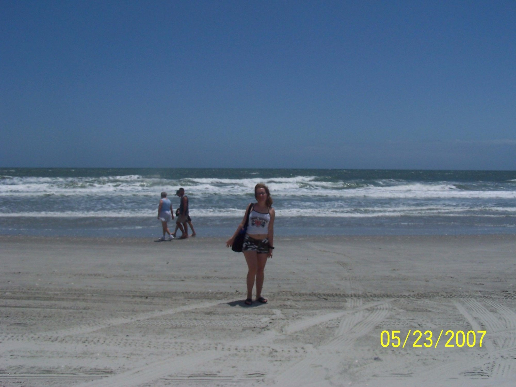 It was too windy that day and I didn't get to swim but we had fun gathering shells