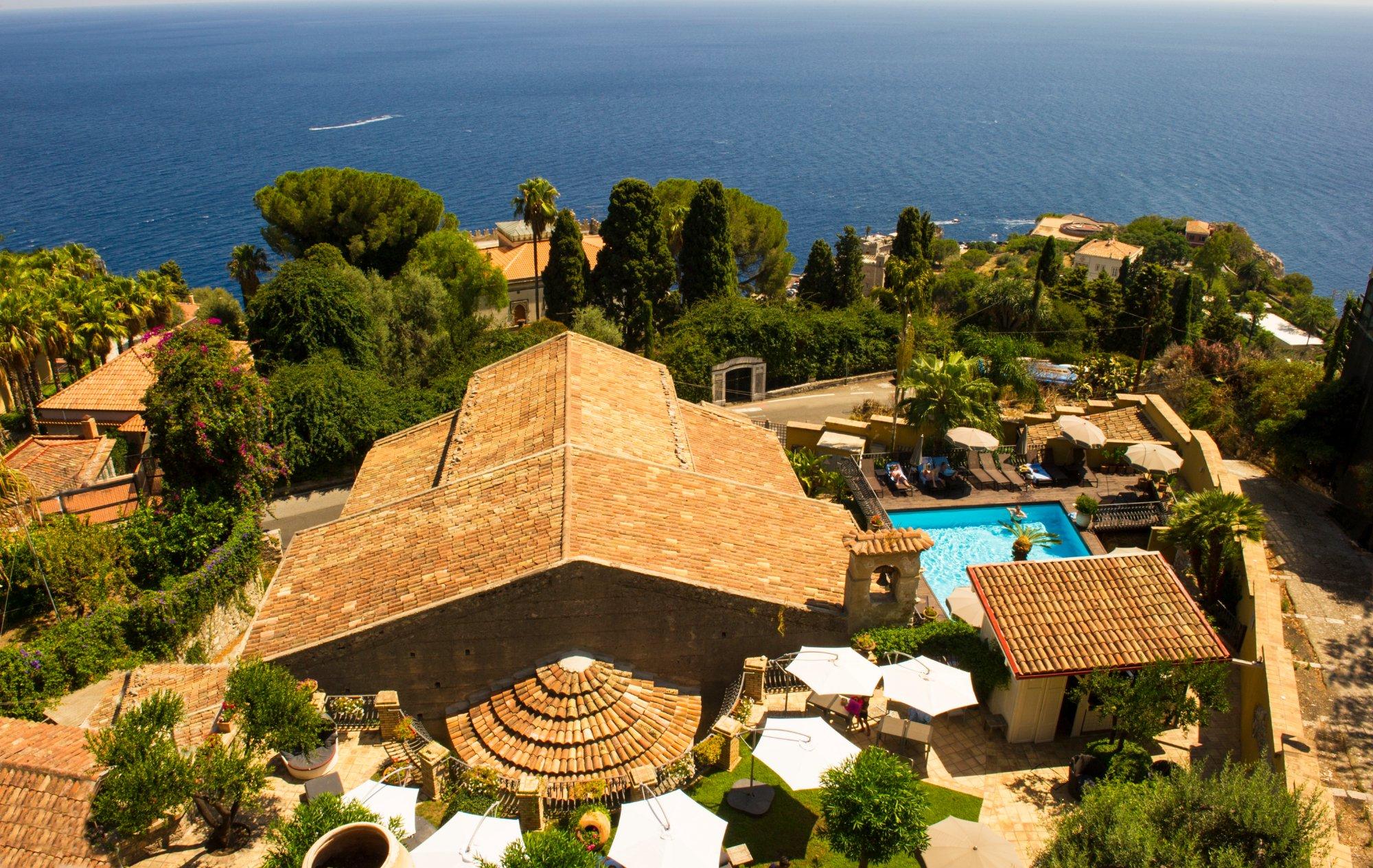 Hotel villa carlotta taormina itali foto 39 s reviews en prijsvergelijking tripadvisor - Kamer timeo ...
