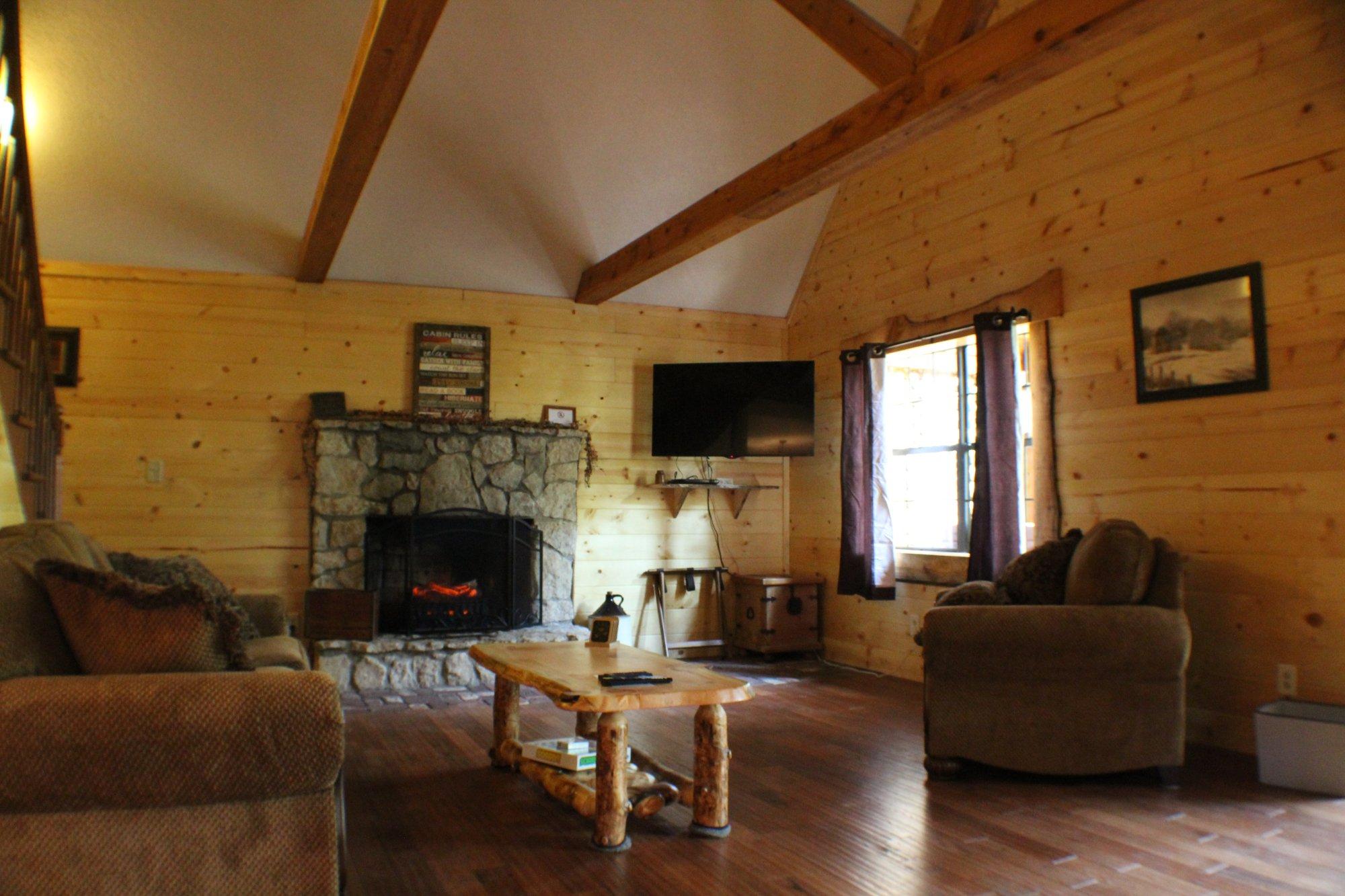 Getaway Cabins South Bloomingville Oh Hytte