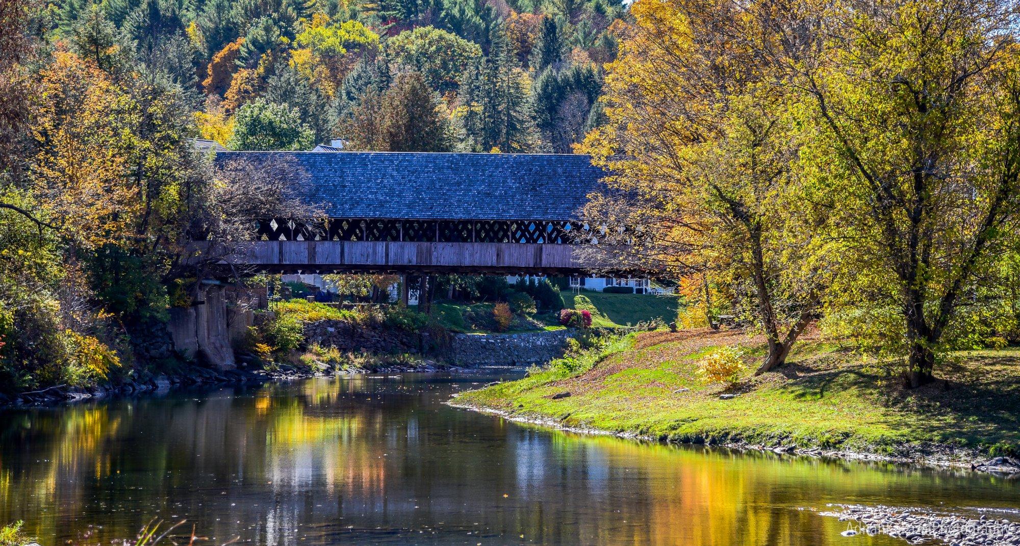 Covered bridges of Vermont...
