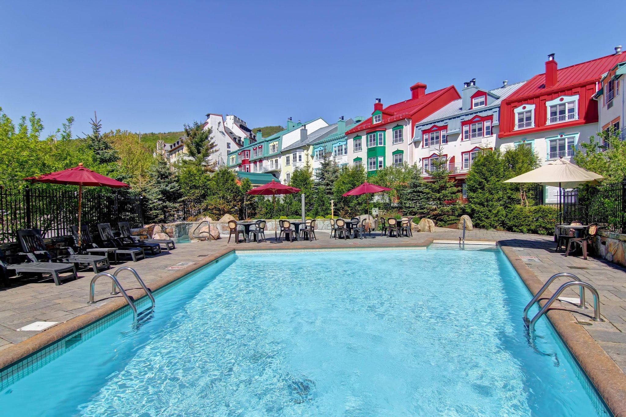 蒙特朗布朗渡假村希爾頓惠庭套房飯店