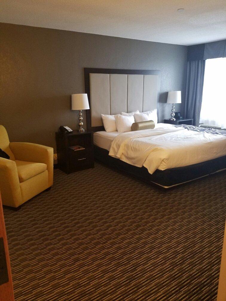 底特律都會韋恩縣機場拉昆塔套房飯店