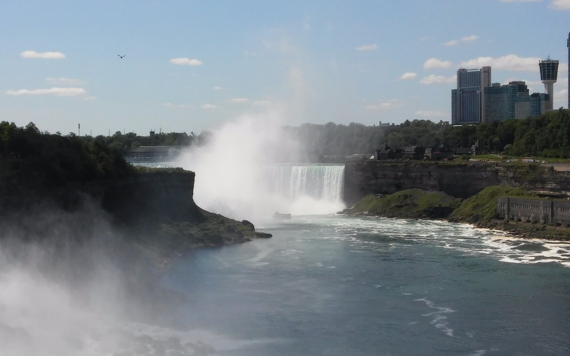 Horseshoe Falls, as seen from the Observation Deck.
