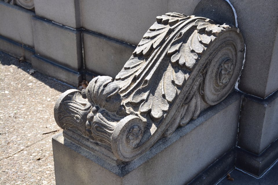 Smith Memorial Arch detail