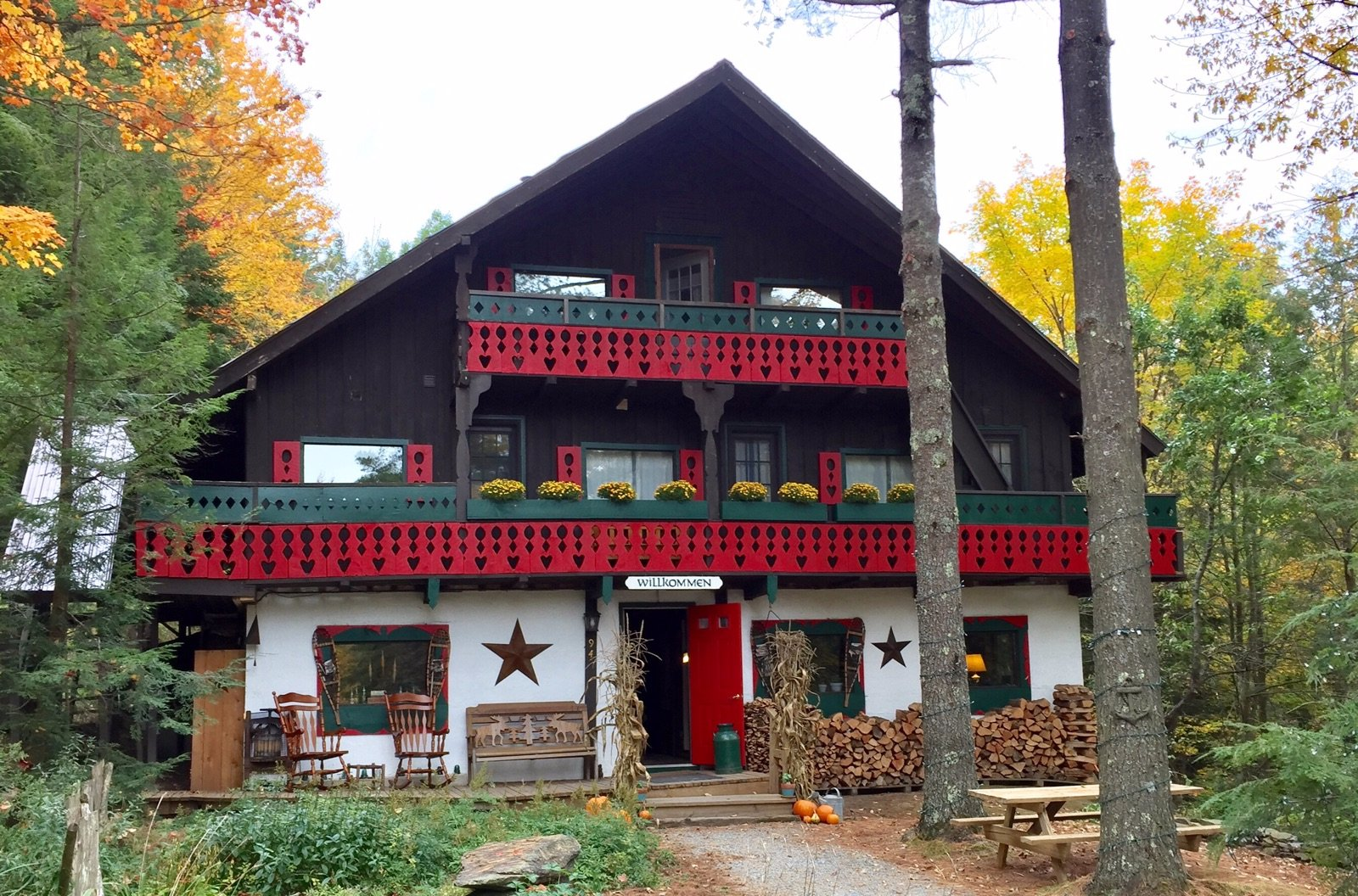Grunberg Haus Bed and Breakfast Inn and Cabins