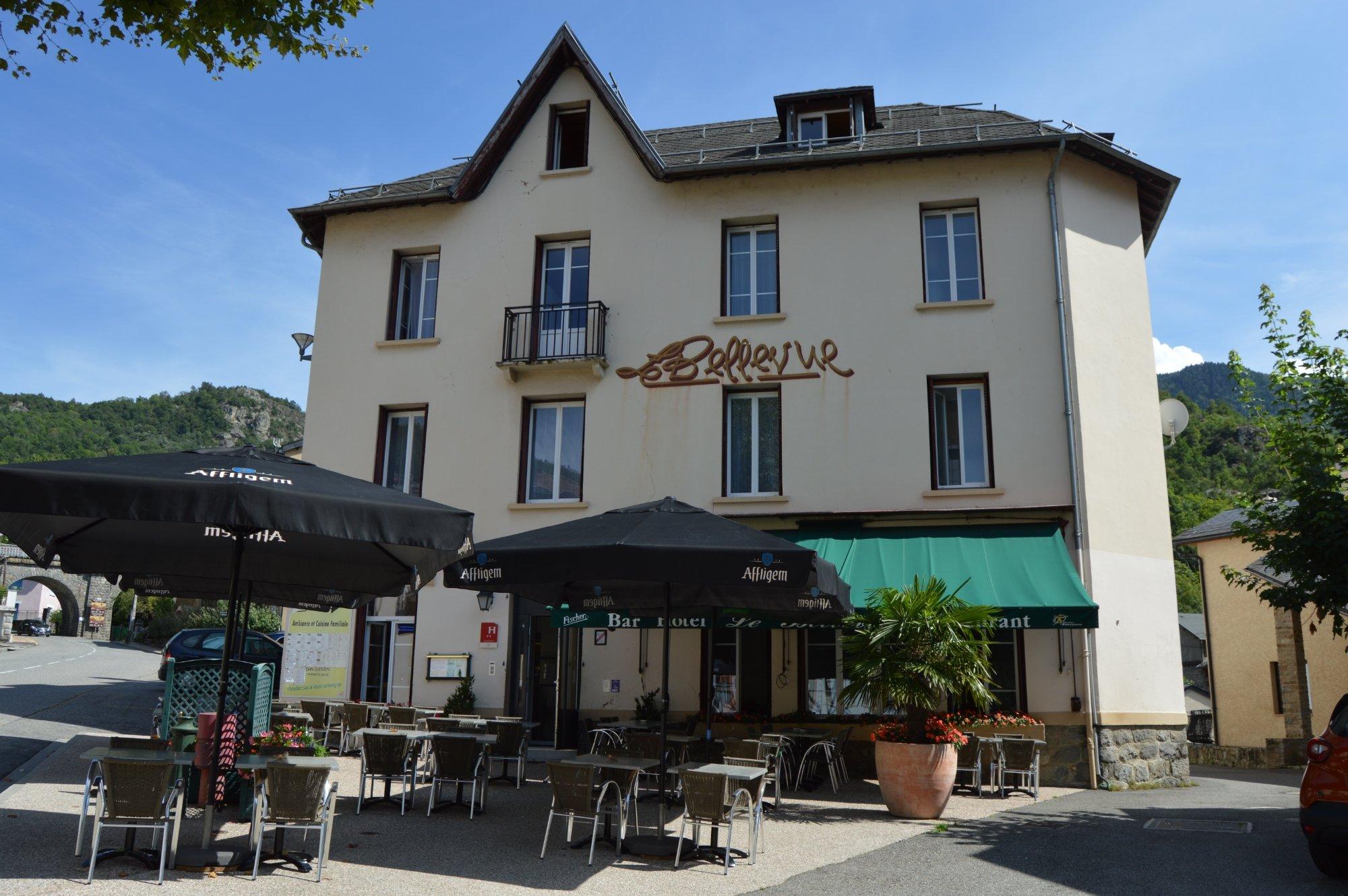 H´tel Restaurant Le Bellevue Ax les Thermes France voir les