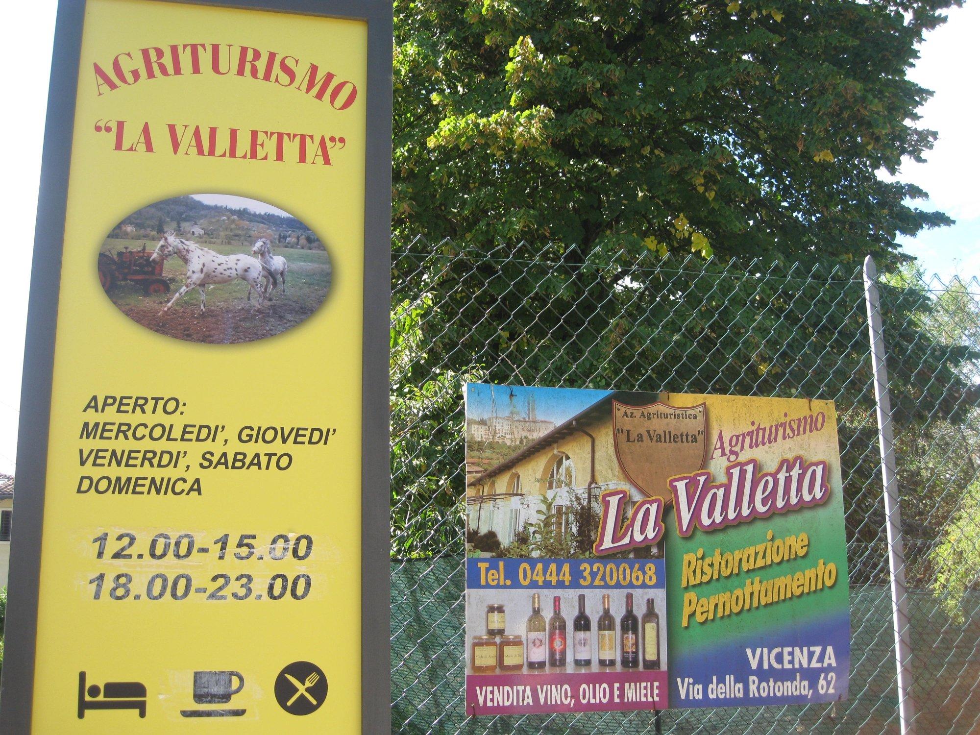 Agriturismo La Valletta