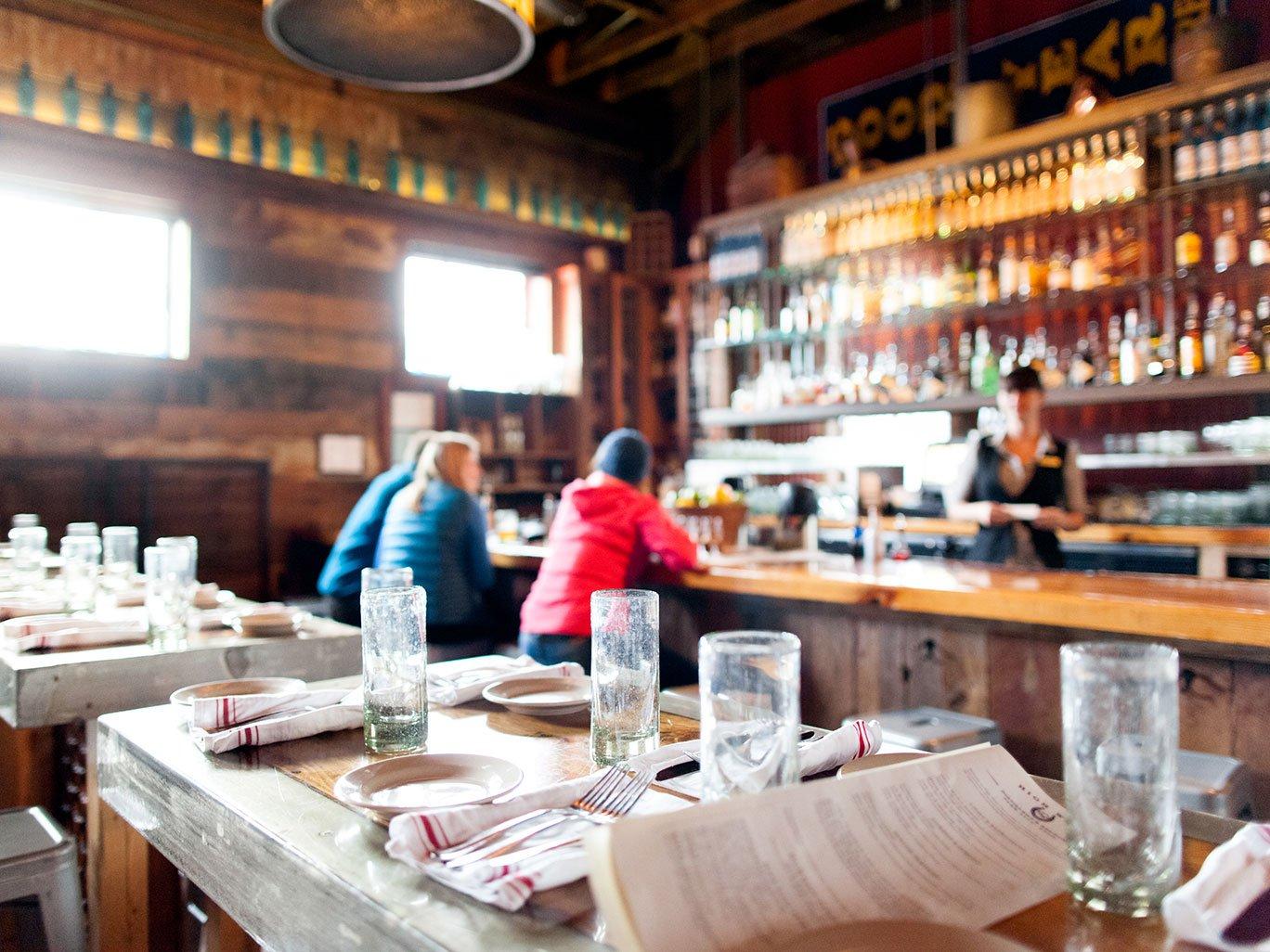 High West Distillery Bar