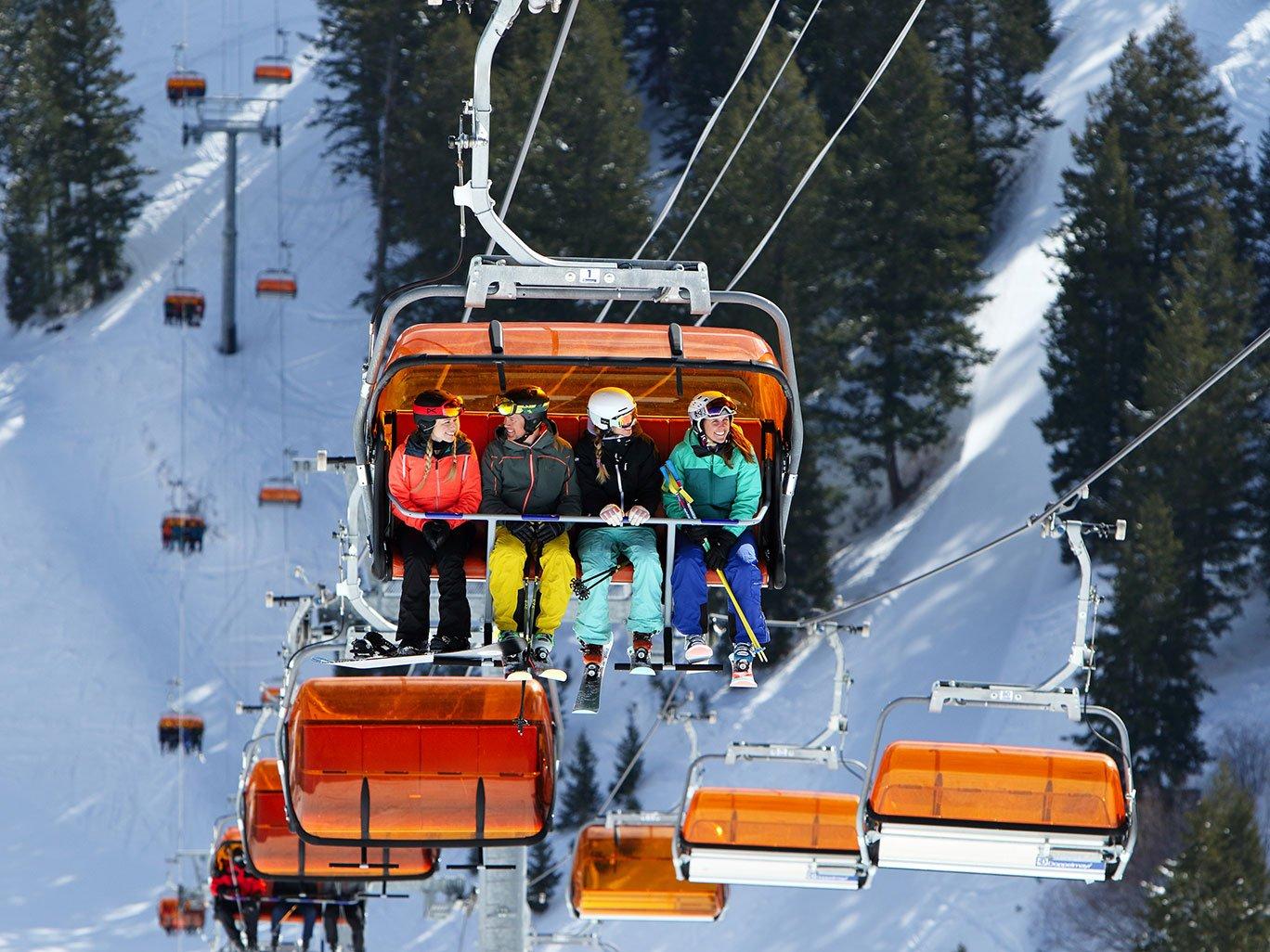Park City Mountain Resort Orange Bubble Express