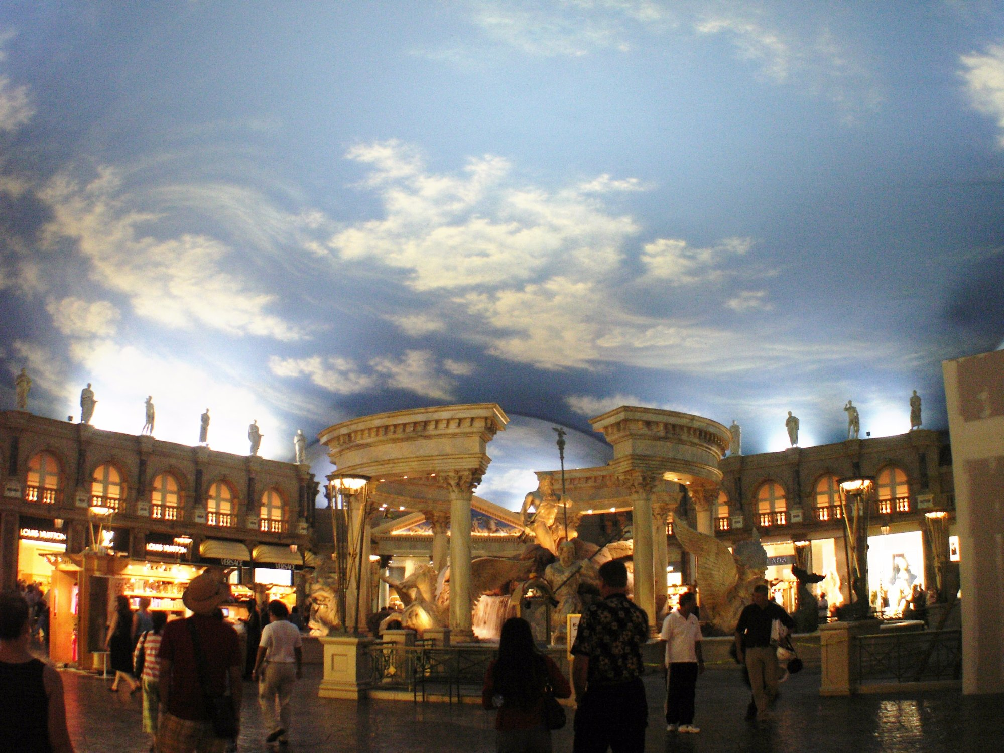 A View inside Caesars Palace