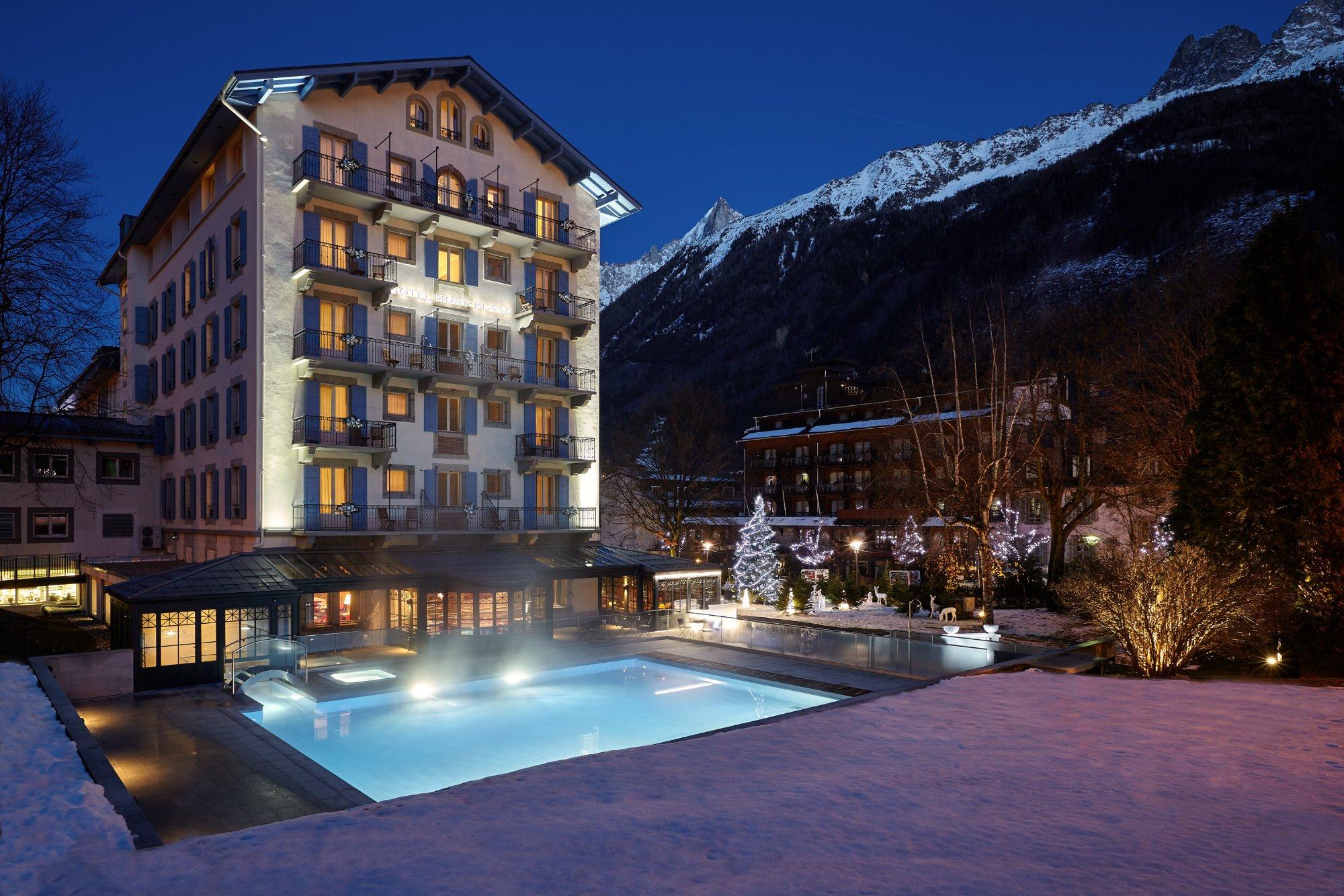 reservation hôtel chamonix