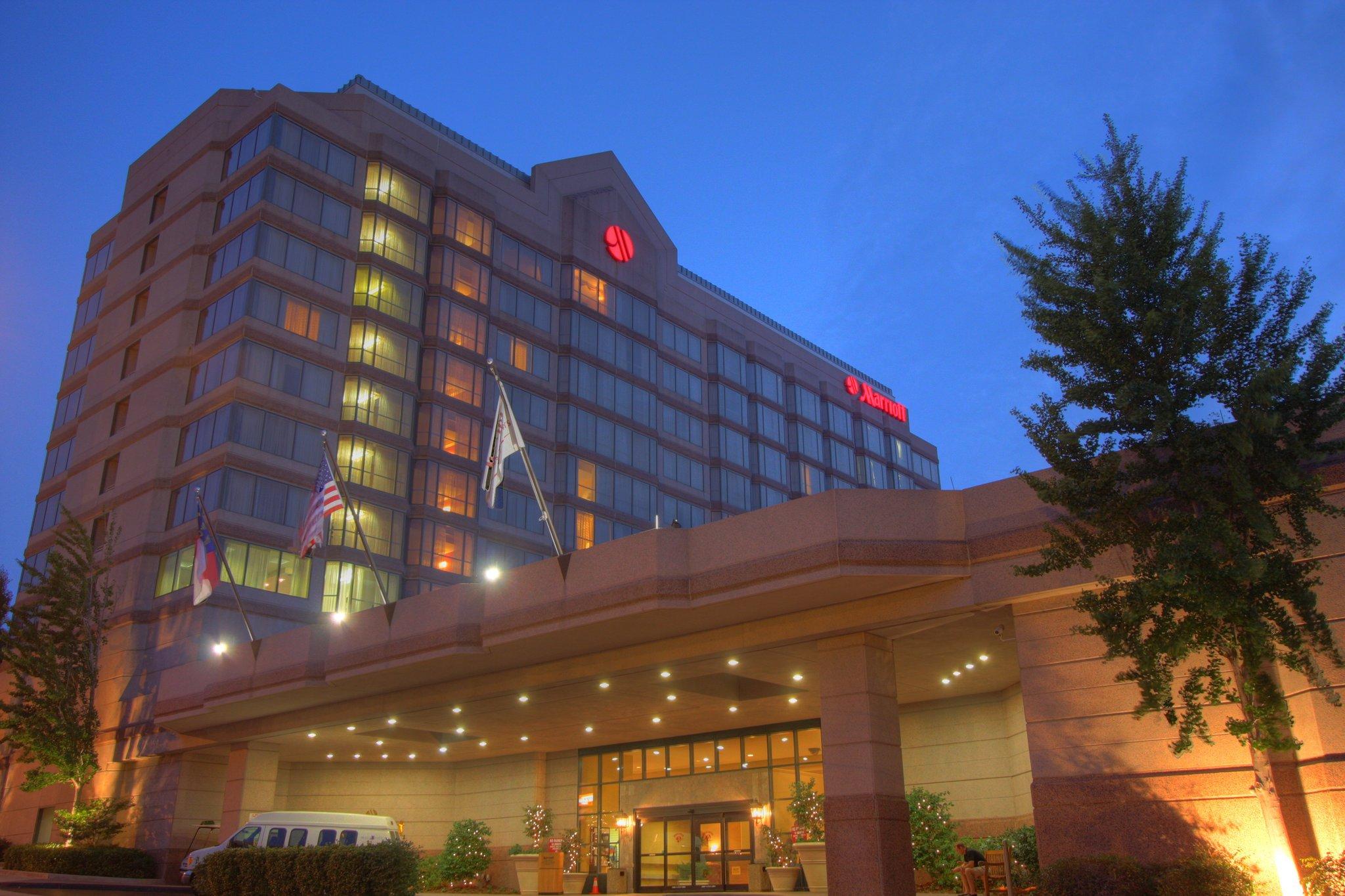 達勒姆市中心萬豪酒店
