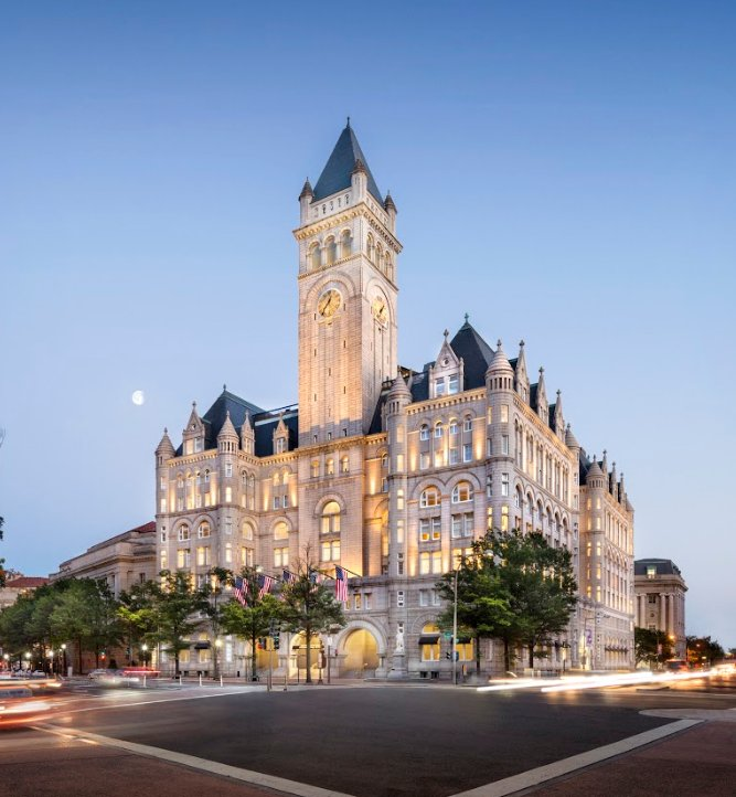 Hotels In Washington Dc Trump International Hotel 5 Star
