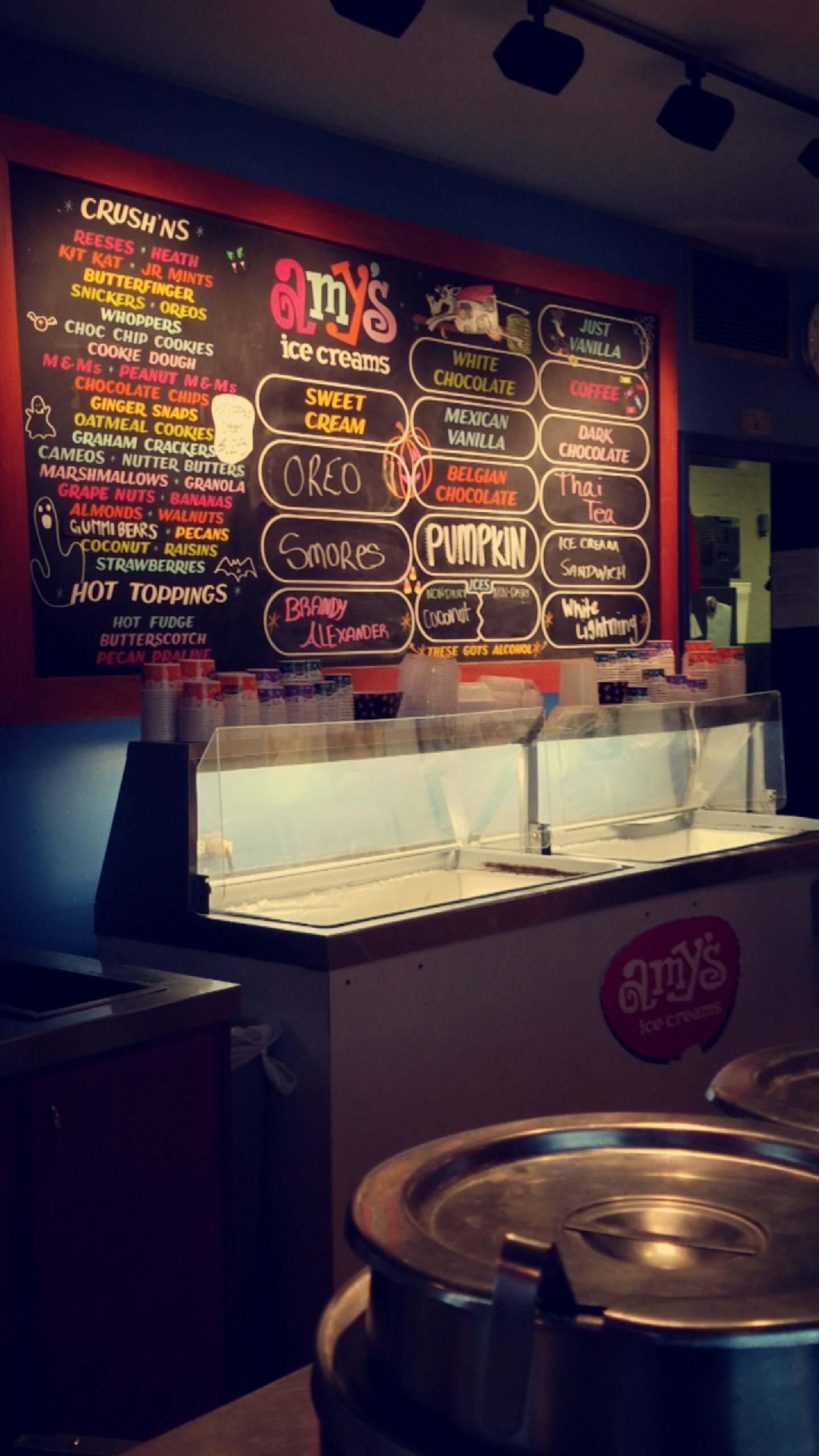 Amy's Ice Creams, Houston - Greenway/ Upper Kirby - Menu, Prices ...