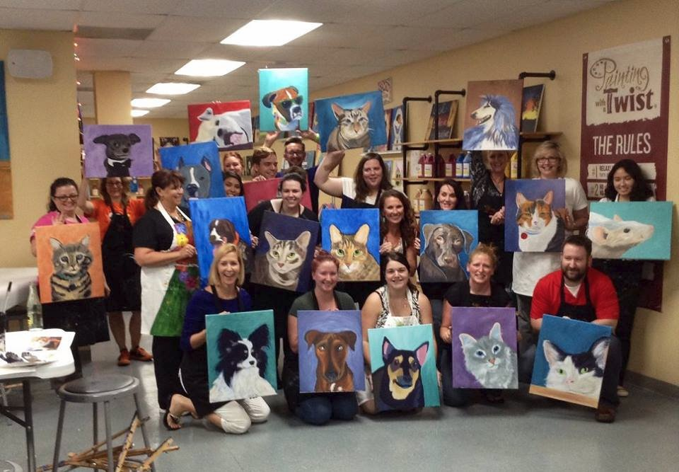 Painting With A Twist Round Rock All You Need to Know Before