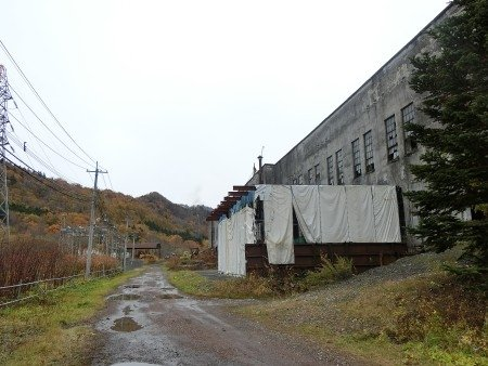 Old Hokutan Shimizusawa Thermal Power Plant