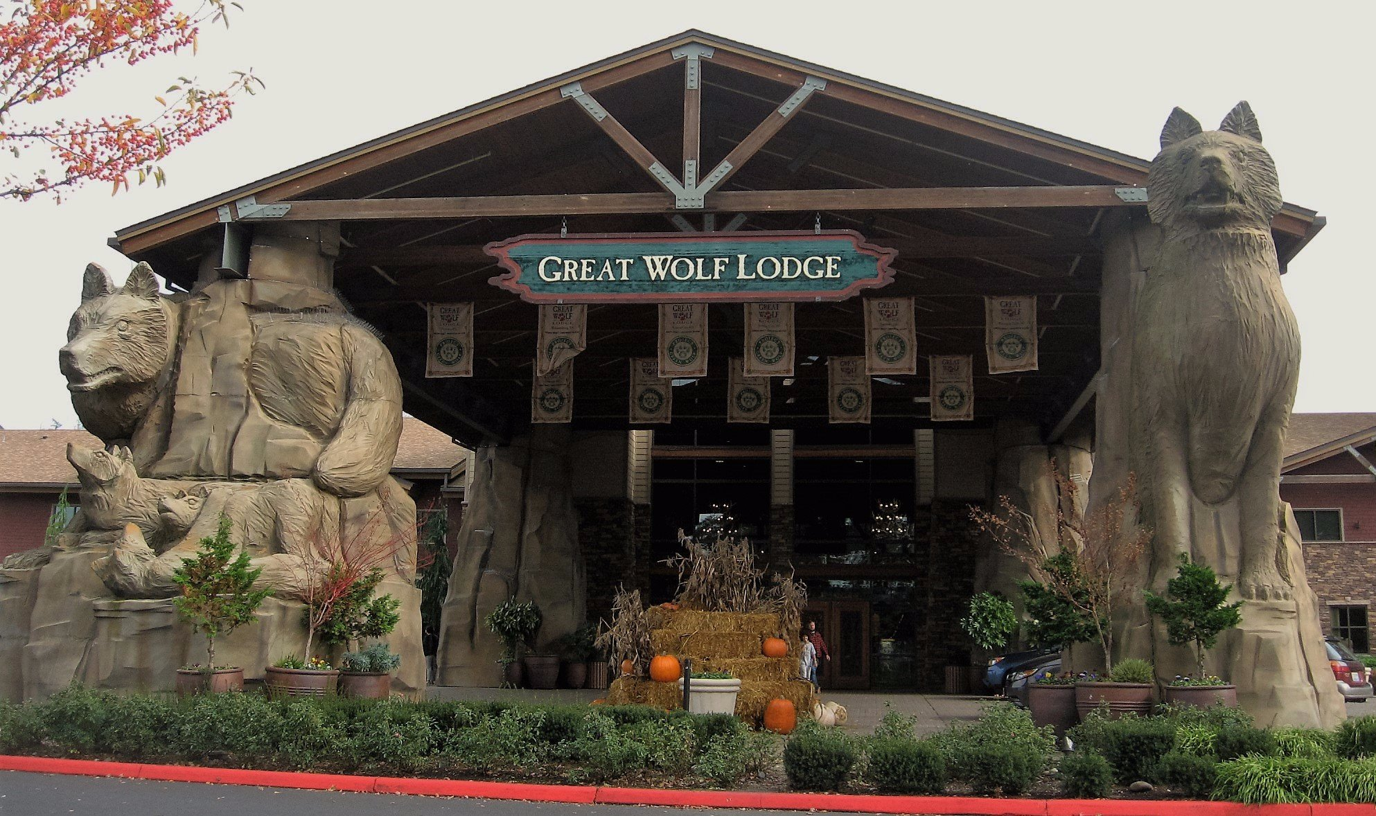 great wolf lodge grand mound casino