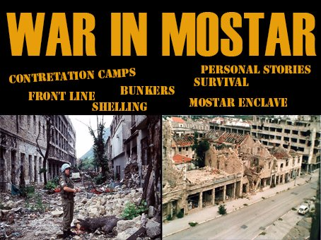 War In Mostar Walking Tour