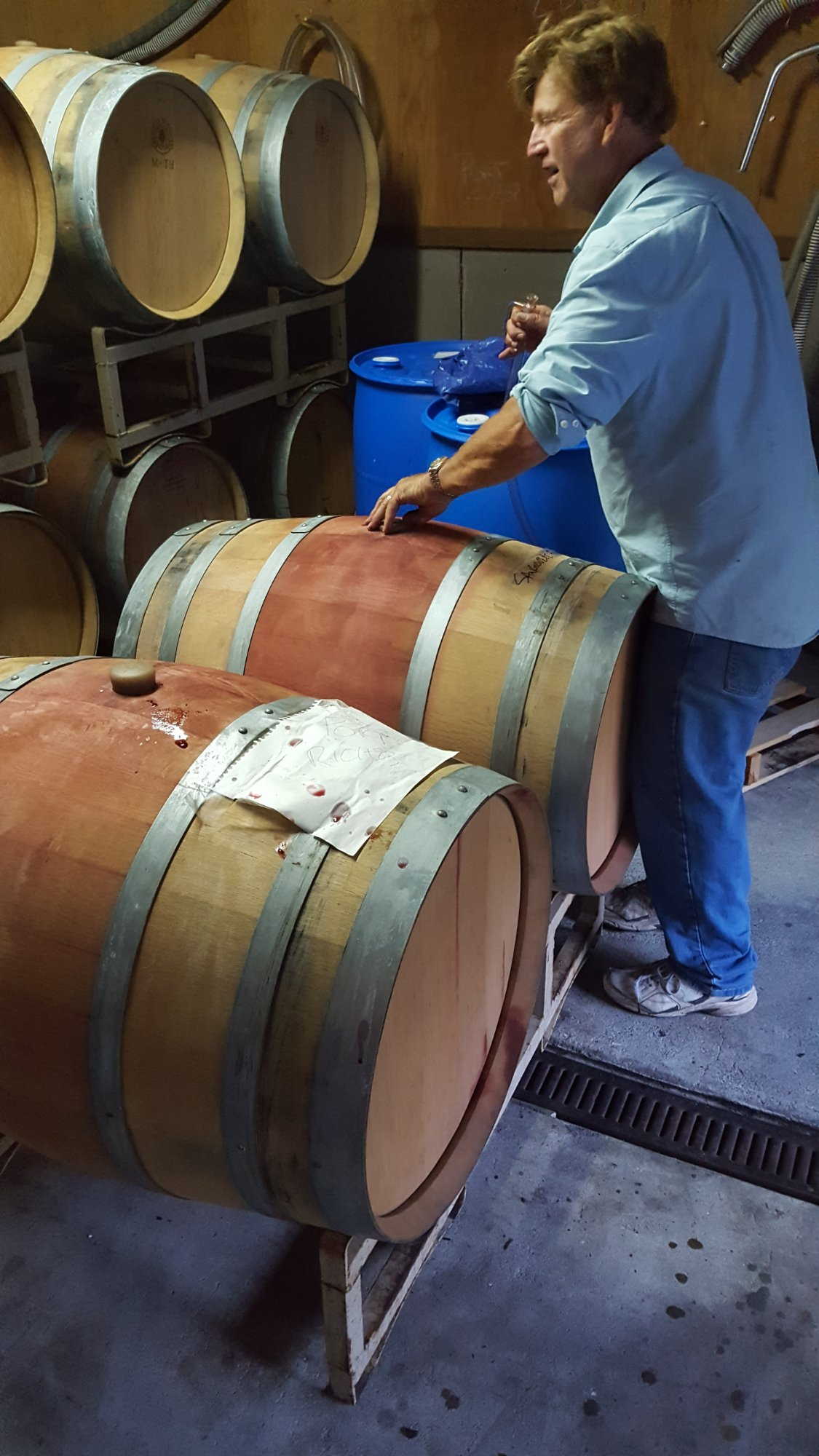Bill knows his barrels!