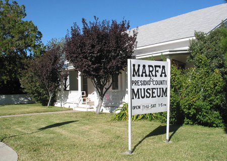 ‪Marfa and Presidio County Museum‬