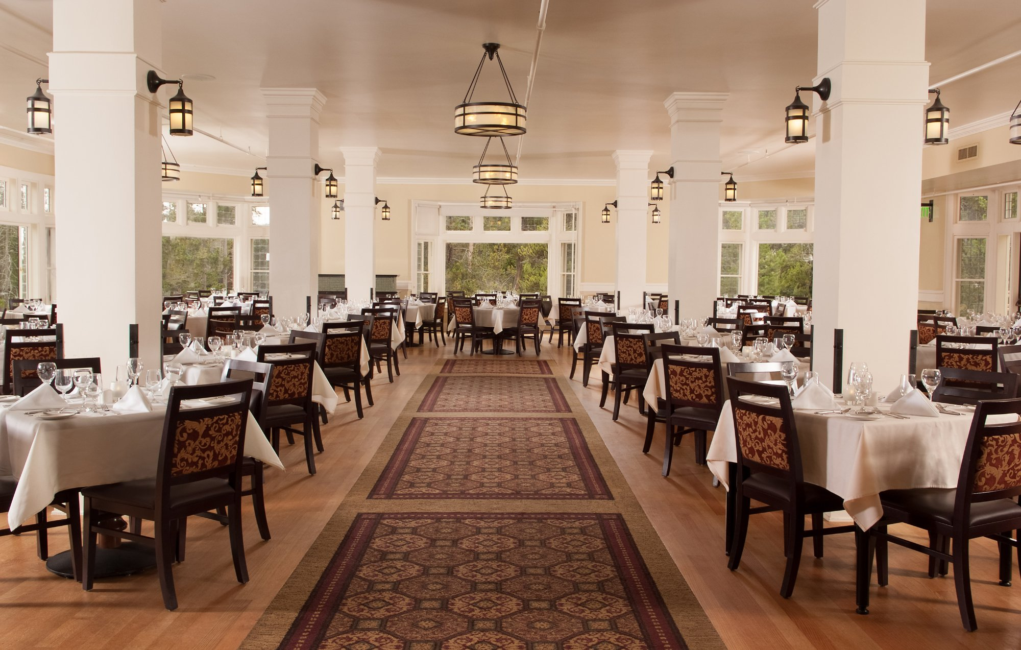 Lake Yellowstone Hotel Dining Room National Park