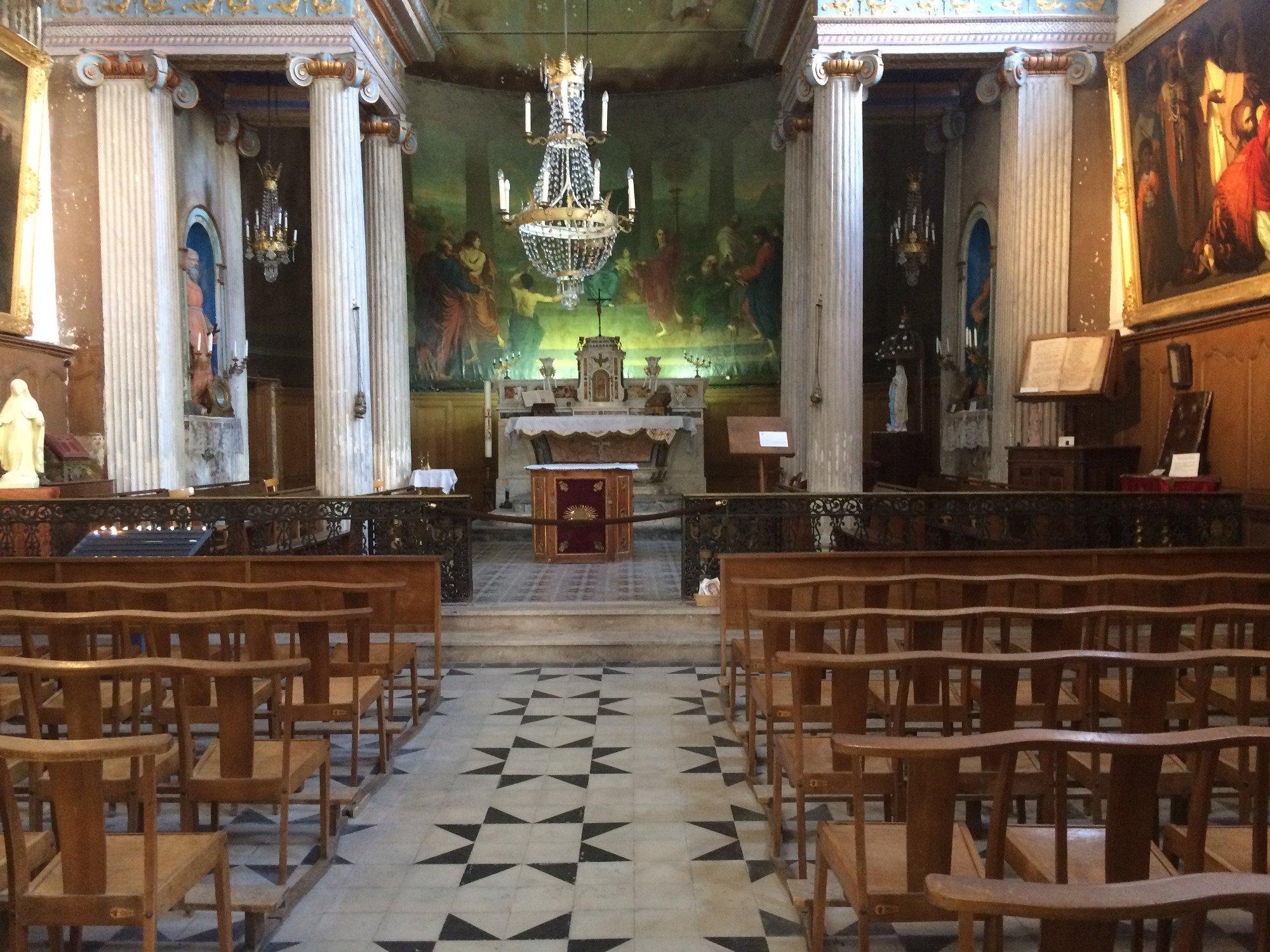Chapelle des Pénitents blancs d Aigues Mortes 2017 Ce qu il