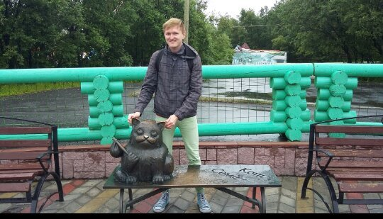 Semyon the Cat Monument
