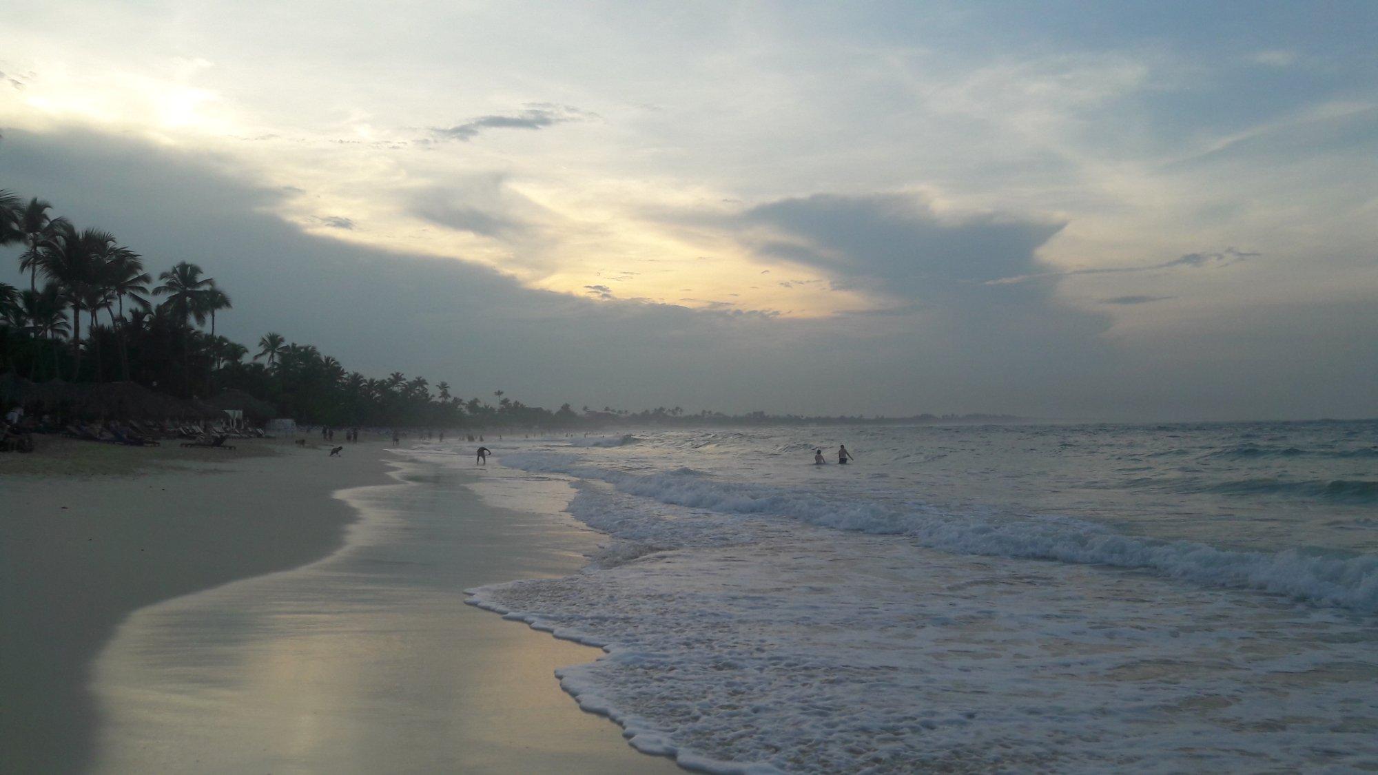 playa del Hotel Riu República