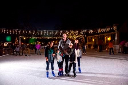 Ice Skating in Colonial Williamsburg