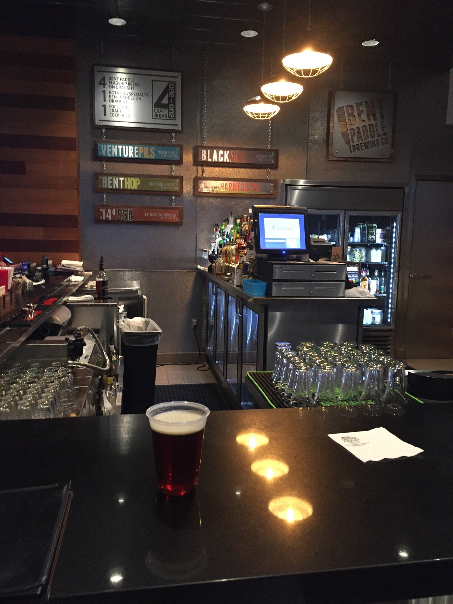 411 Craft Beer Bar - They have an amazing selection of good beer.