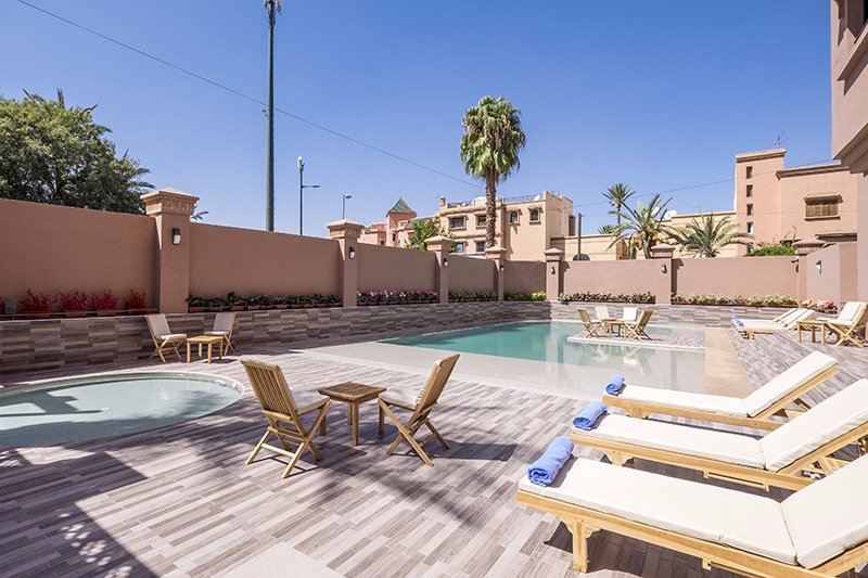 Ayoub hotel spa updated 2018 reviews price for Bab hotel marrakech piscine