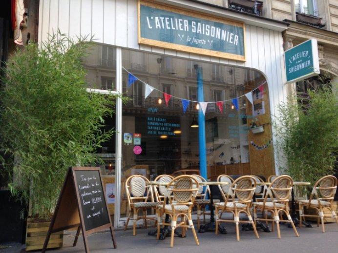 L 39 atelier saisonnier paris op ra bourse restaurant for Bourse exterieur