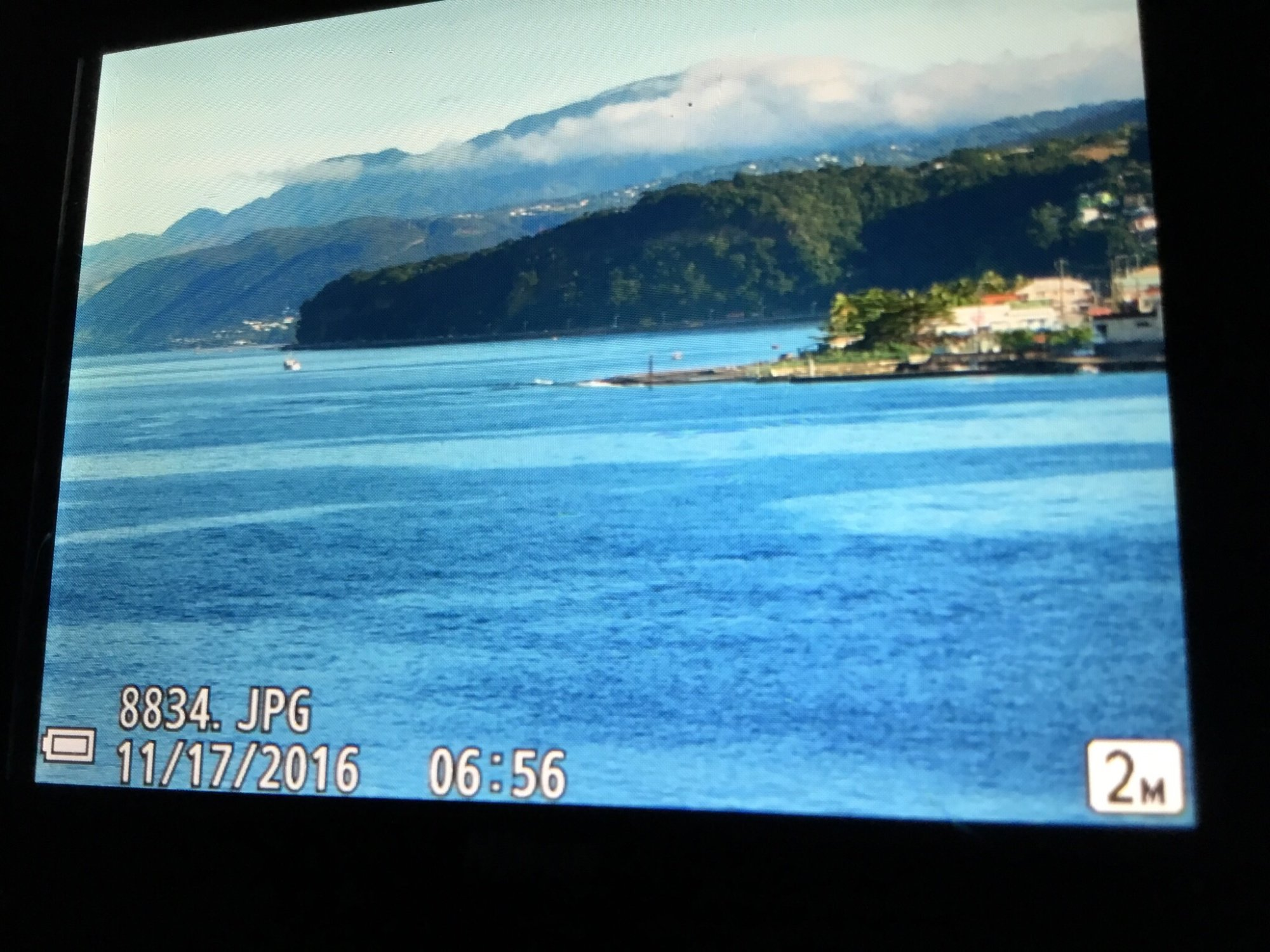 Dominica from the cruise ship