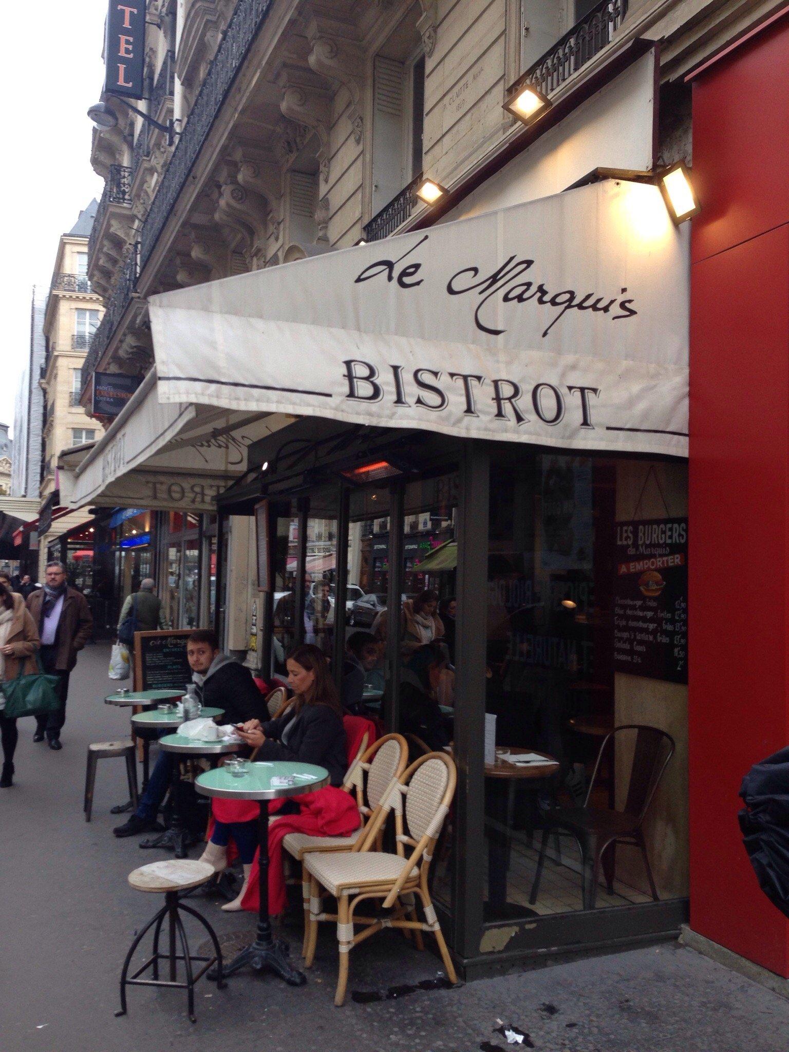 Le marquis paris opera bourse restaurant reviews for Restaurant le miroir paris 18